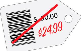Bajar los precios, cuando es conveniente